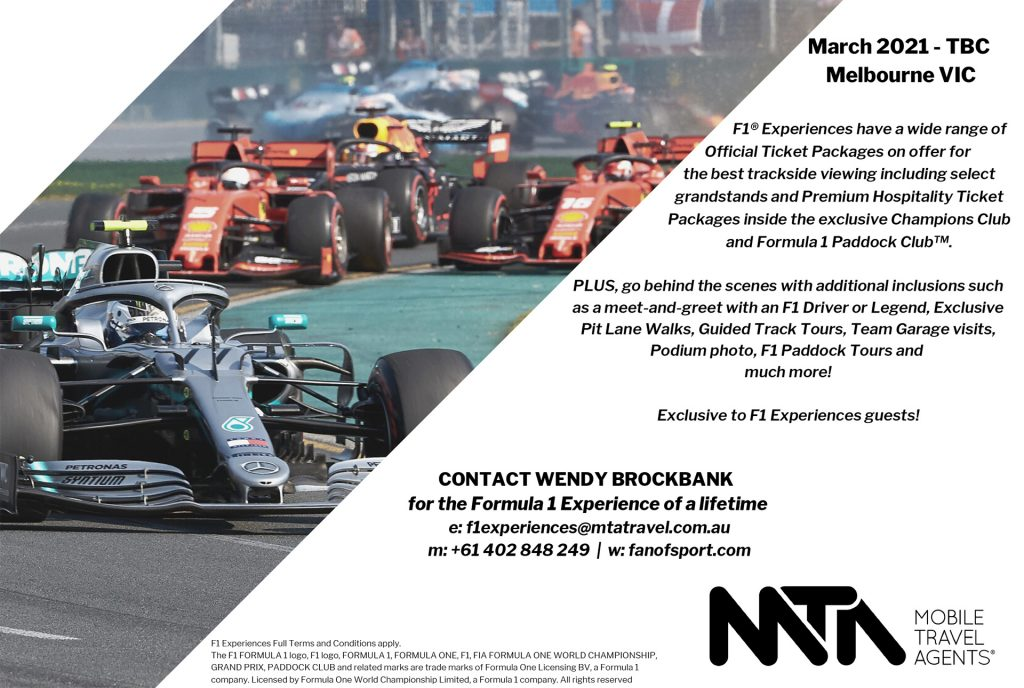 F1 Experiences